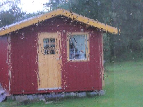 Regn, regn och åter - regn!