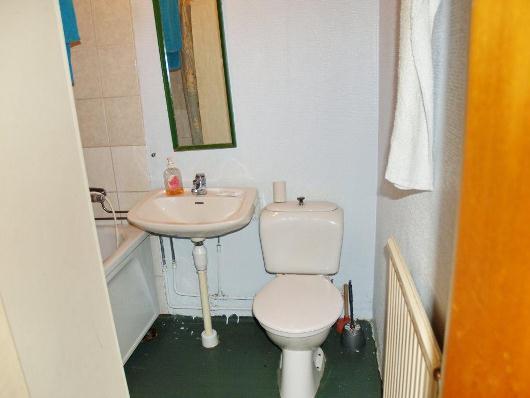 Badrummet, i behov av renovering!