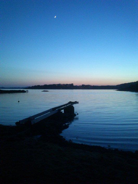 Kvällspromenad vid havet
