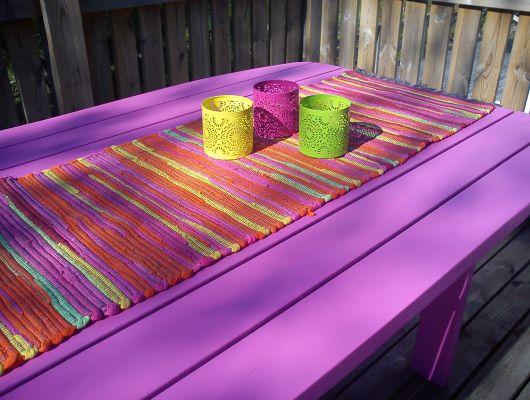 Läckert matbord för färgstarka middagar