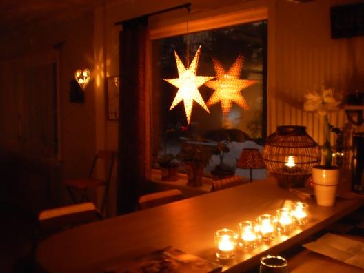 Nu är julstjärnan på plats